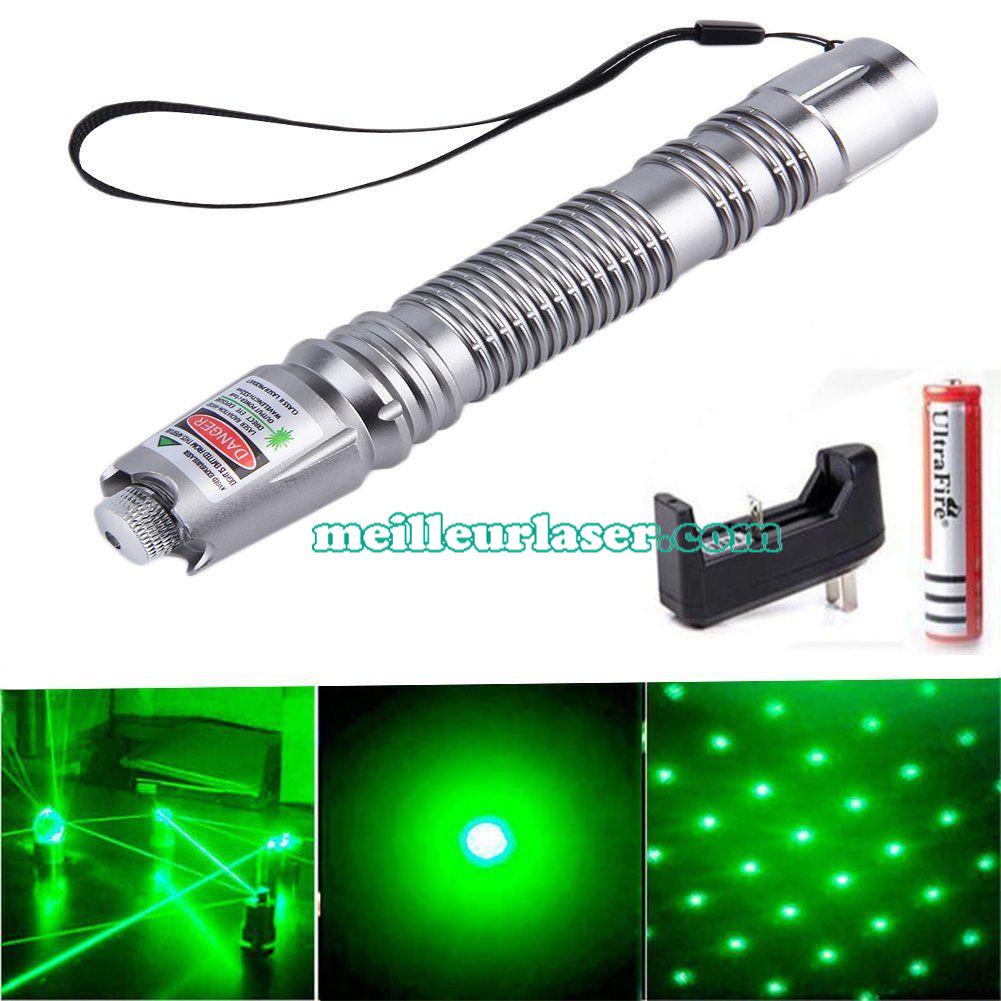Pointeur Laser 500mW Vert Pas Cher Vente